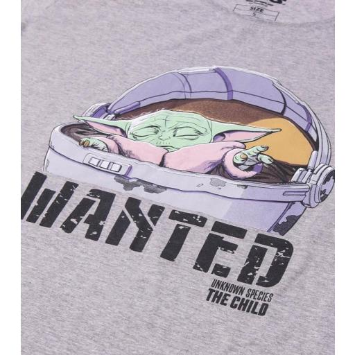 Camiseta Wanted Baby Yoda [1]