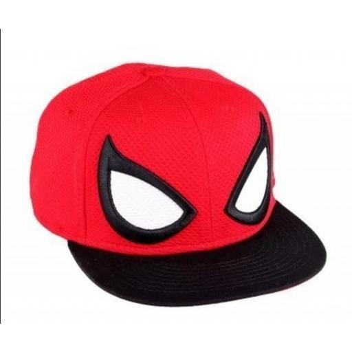 Gorra Snapback Máscara Spiderman