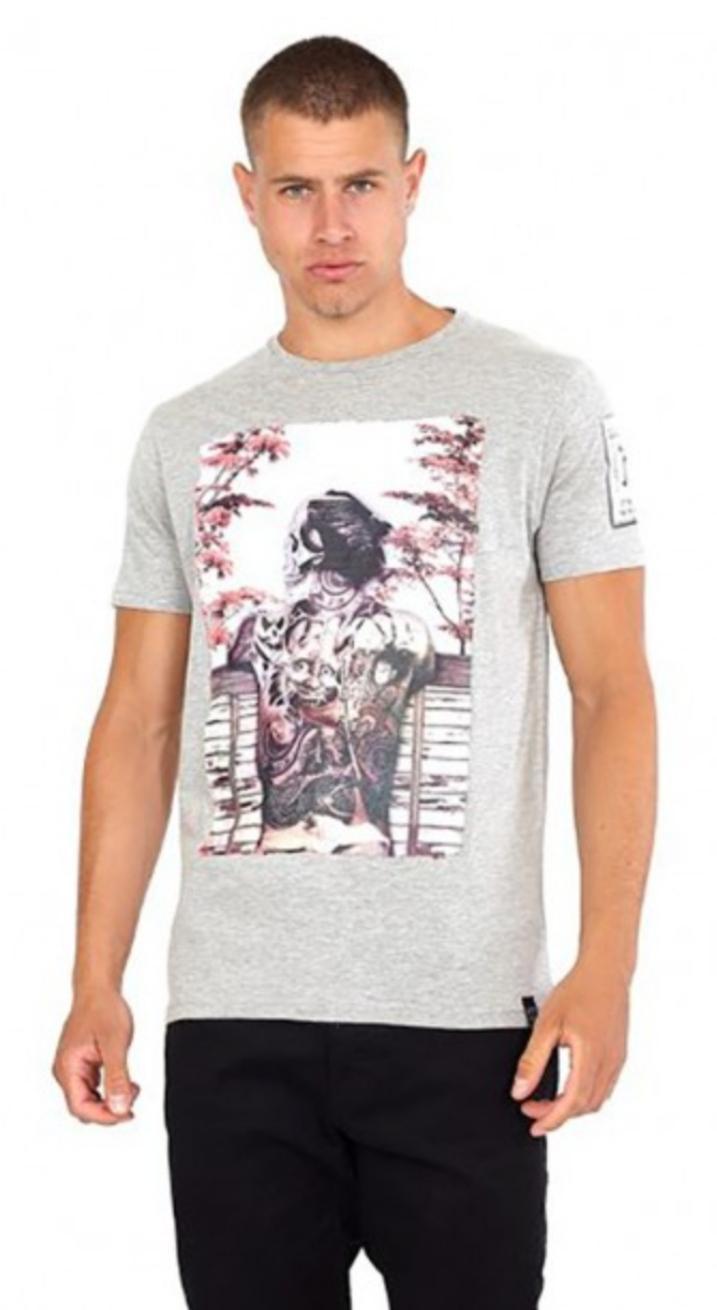 Camiseta Samurai tatuaje