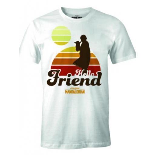 Camiseta Mandalorian Friends
