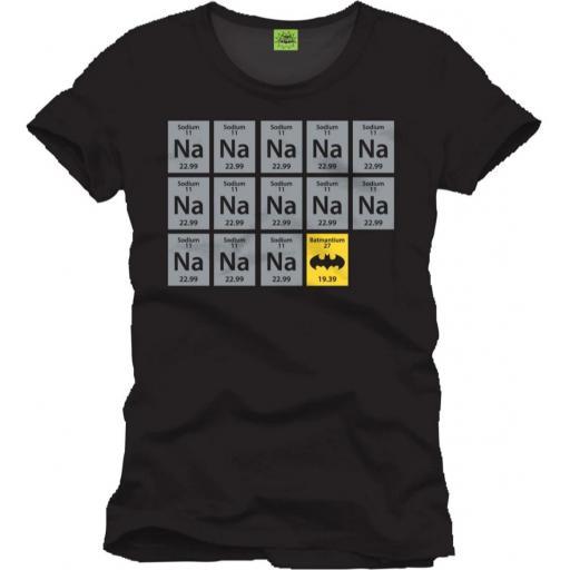 Camiseta tabla periódica Batman [0]