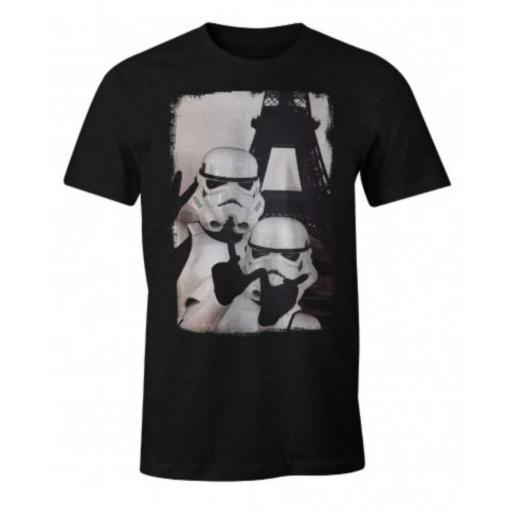 Camiseta Selfie trooper