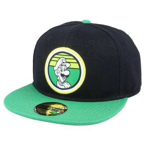 Gorra Snapback Luigi