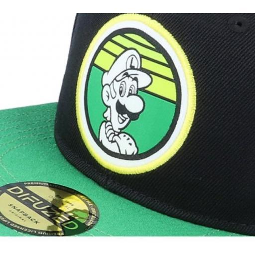 Gorra Snapback Luigi [1]