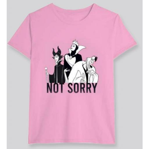 Camiseta Villanas Disney