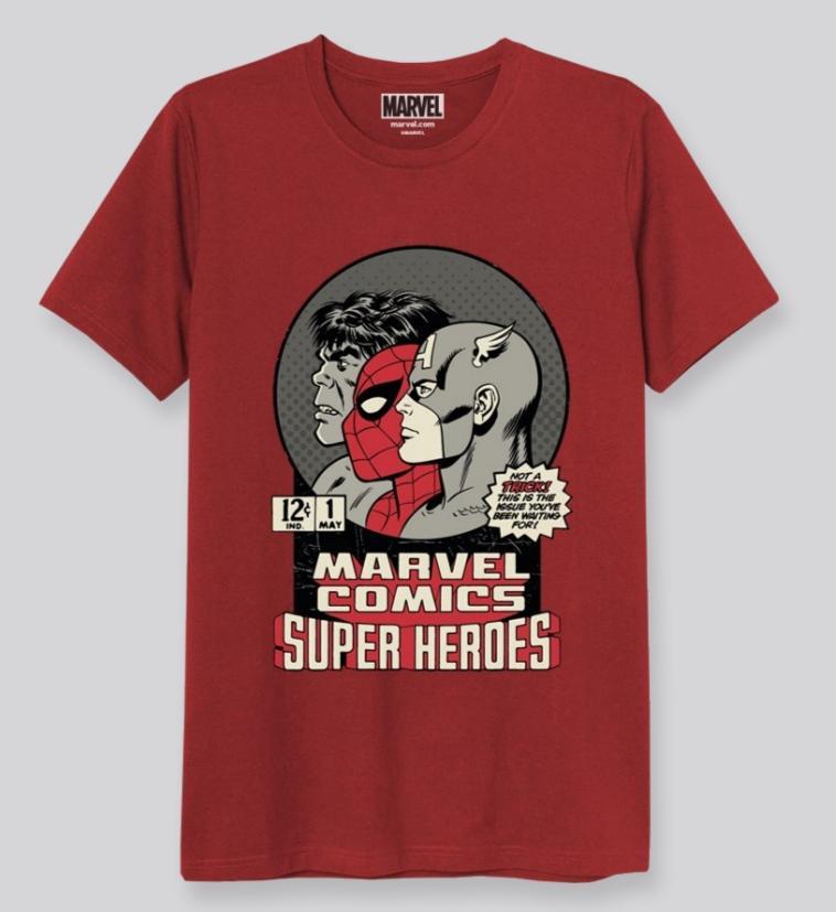 Camiseta Portada Comic