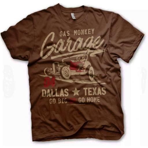 Camiseta Gas Monkey 04