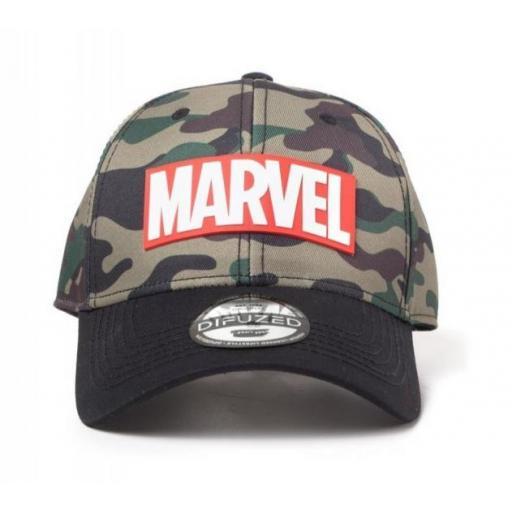 Gorra Camo Marvel
