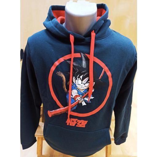Sudadera Goku cola saiyana