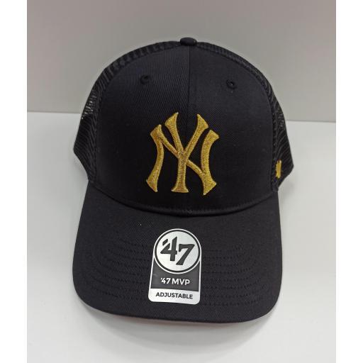 Gorra Yankees Gold