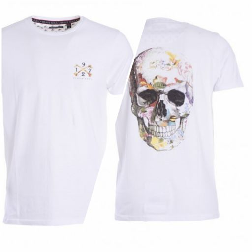 Camiseta color skull
