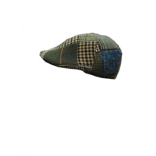gorra lana patchwork [0]