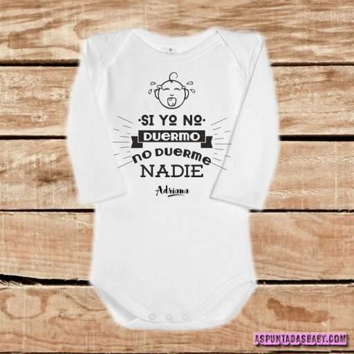 Body bebé mod. Si yo no duermo [1]
