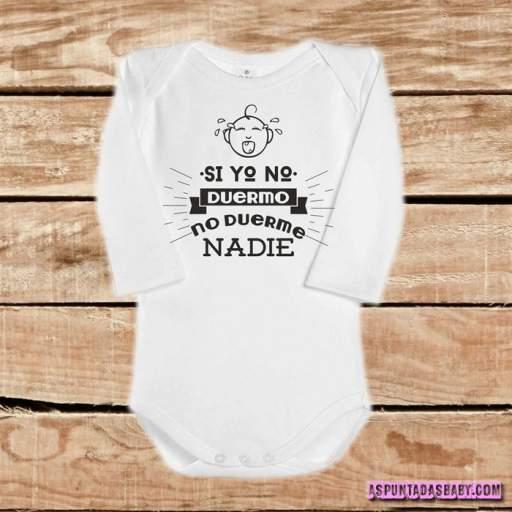 Body bebé mod. Si yo no duermo