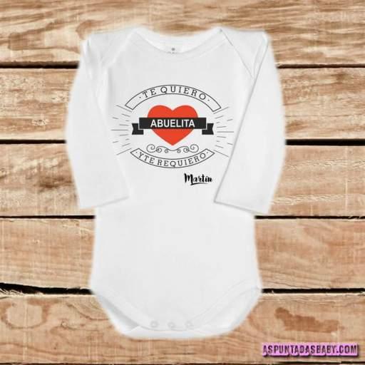 Body bebé mod. I Love Abuelita [1]