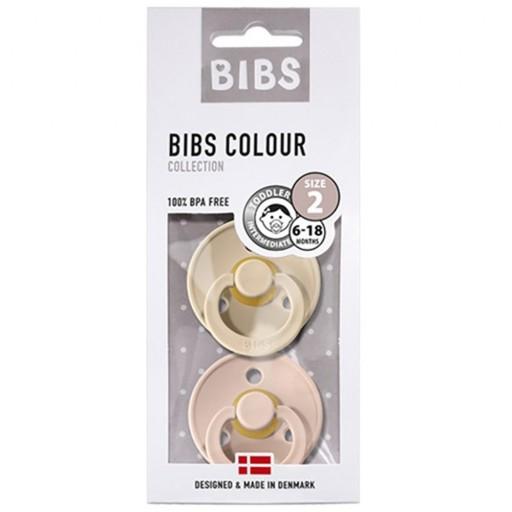 2 Chupetes BIBS Colours Blush/Ivory [2]