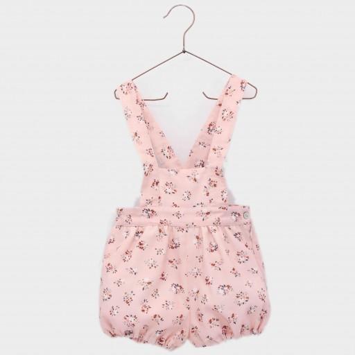 Ranita peto niña Foque colección Botánica color rosado suave.