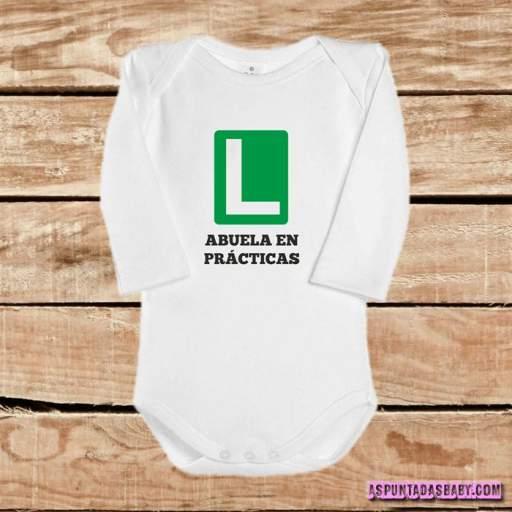 Body bebé mod. Abuela en prácticas  [1]
