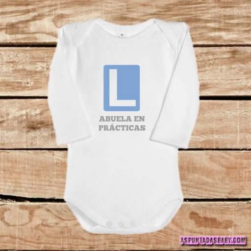 Body bebé mod. Abuela en prácticas  [2]