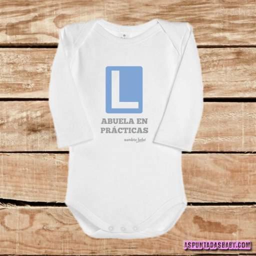 Body bebé mod. Abuela en prácticas  [3]