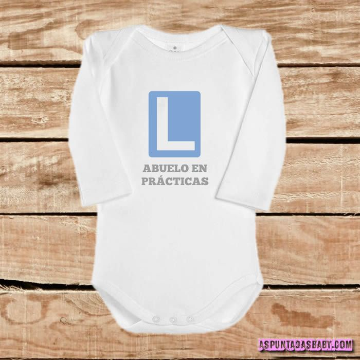 Body bebé mod. Abuelo en prácticas