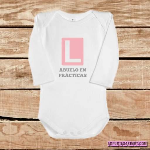 Body bebé mod. Abuelo en prácticas  [2]