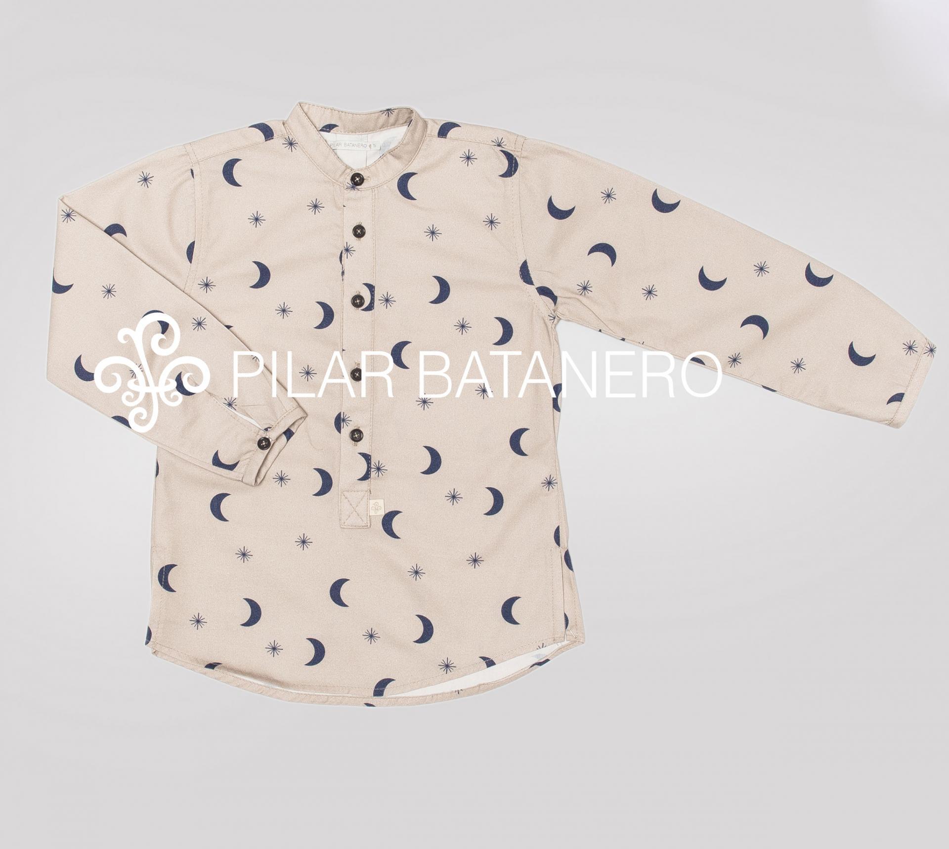 Camisa Pilar Batanero mod. Lunas y estrellas