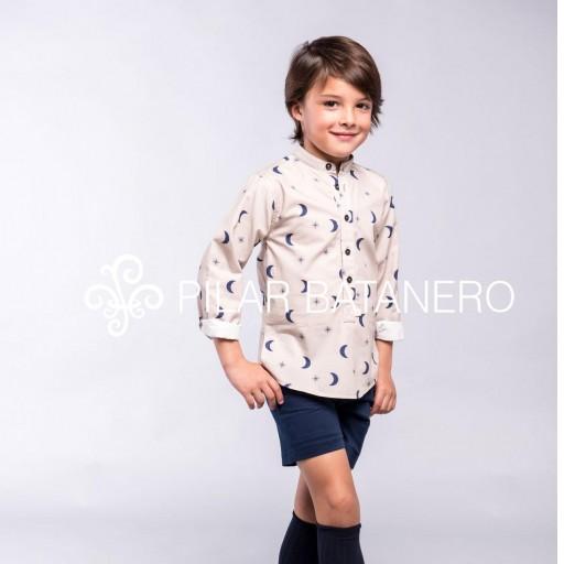 Camisa Pilar Batanero mod. Lunas y estrellas [1]