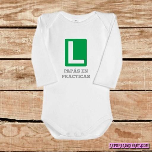 Body bebé mod. Papás en prácticas