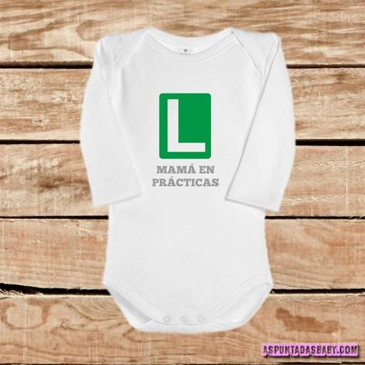Body bebé mod. Mamá en prácticas
