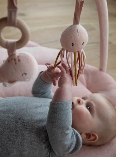 Alfombra de actividades concha Ocean rosa Little Dutch [3]