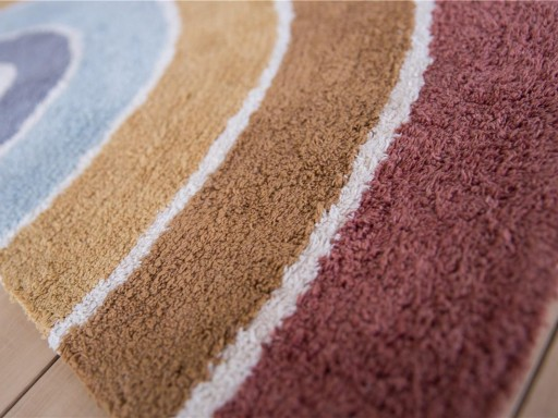 Alfombra Rainbow Pure & Nature Little Dutch [1]