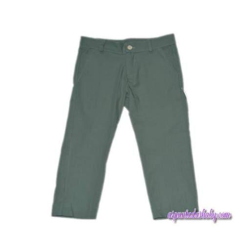 Pantalón Ancar loneta color verde.