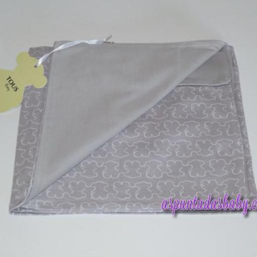 Arrullo algodón Baby Tous mod. Welly color gris [1]