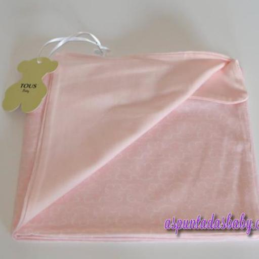 Arrullo algodón Baby Tous mod. Welly color rosa [2]
