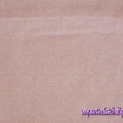 Arrullo algodón Baby Tous mod. Welly color rosa [3]