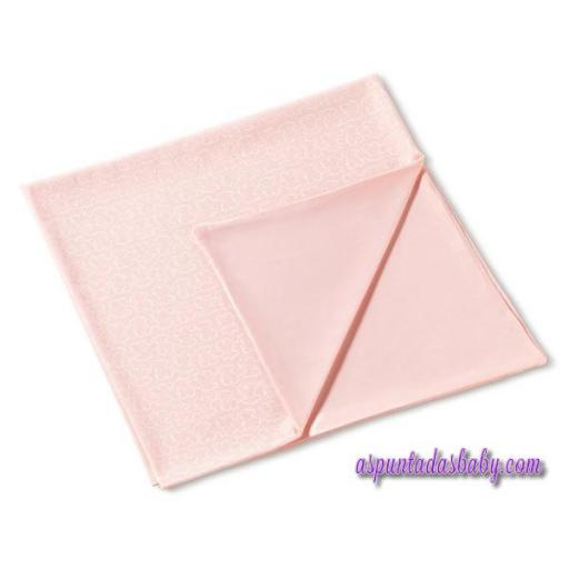 Arrullo algodón Baby Tous mod. Welly color rosa