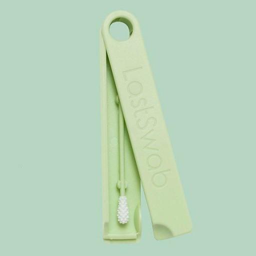 LastSwab bastoncillo reutilizable color menta