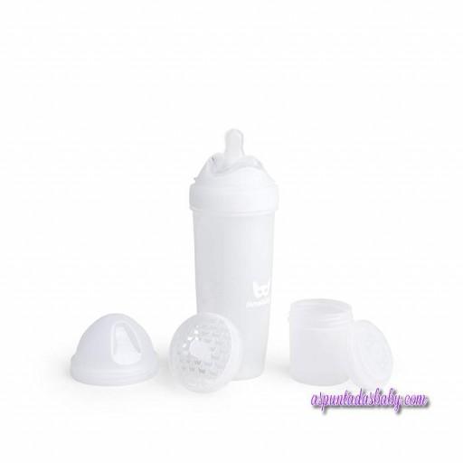 Biberon Herobility 340 ml color blanco.
