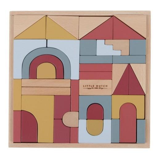 """Puzzle en bloques de madera Pure & Nature """"Little Dutch"""" [2]"""