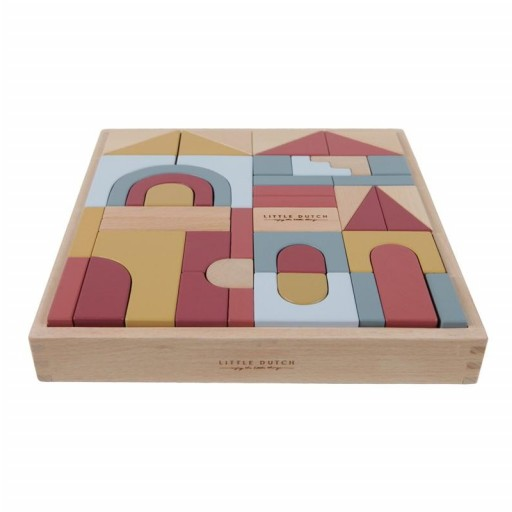 """Puzzle en bloques de madera Pure & Nature """"Little Dutch"""" [1]"""