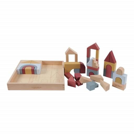 """Puzzle en bloques de madera Pure & Nature """"Little Dutch"""" [3]"""