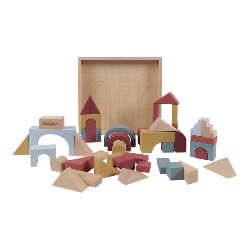 """Puzzle en bloques de madera Pure & Nature """"Little Dutch"""""""