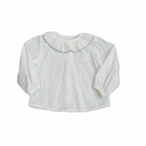 Blusa Cesar Blanco color blanco-bruma.