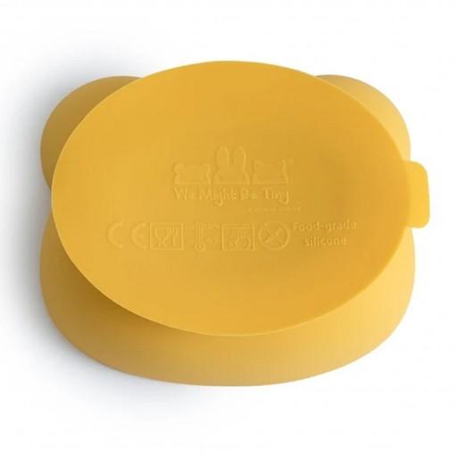 Bol con Ventosa y Tapa Oso Amarillo [3]
