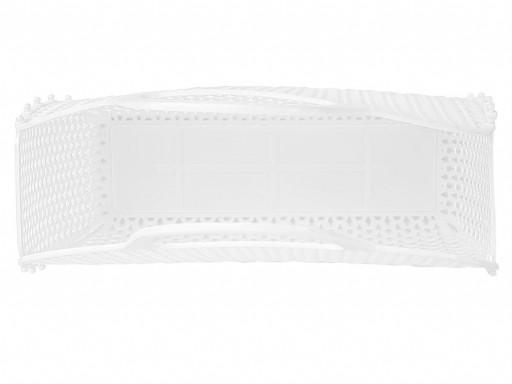 Bolso Plástico Retro Vintage blanca [2]