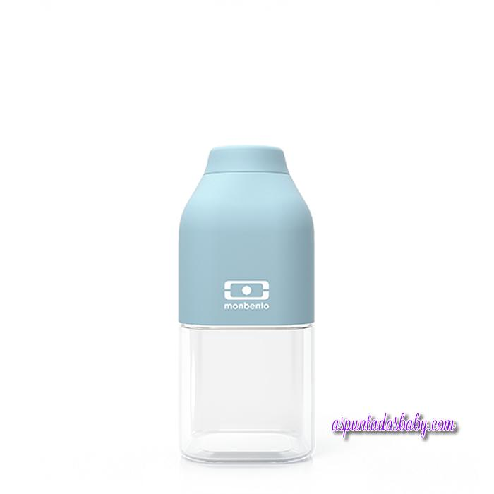 Botella 330 ml Monbento mod. Positive S Azul Iceberg