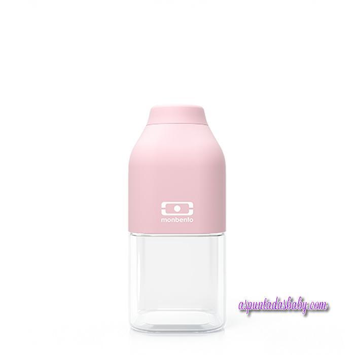Botella 330 ml Monbento mod. Positive S Rosa Pastel