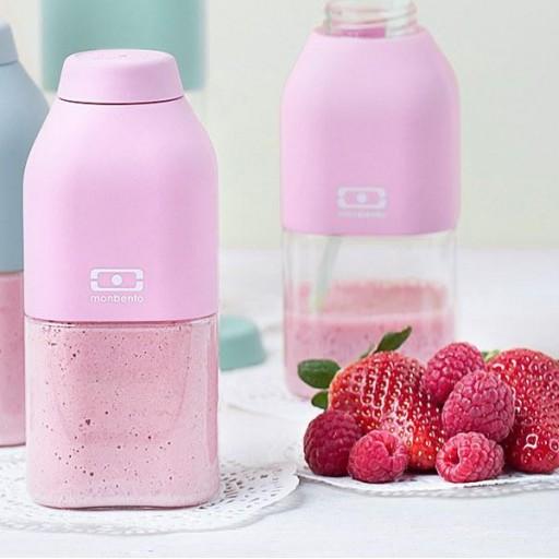Botella 330 ml Monbento mod. Positive S Rosa Pastel [2]