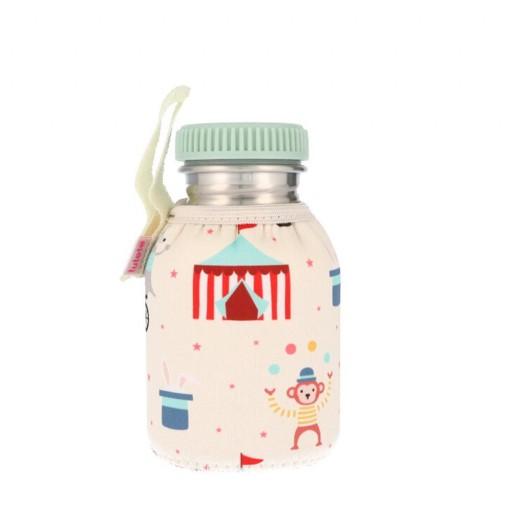 Botella Acero con Funda Circus 350 ml.